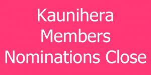 Kaunihera Member Nominations Close