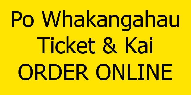 Po Whakangahau Tickets and Kai